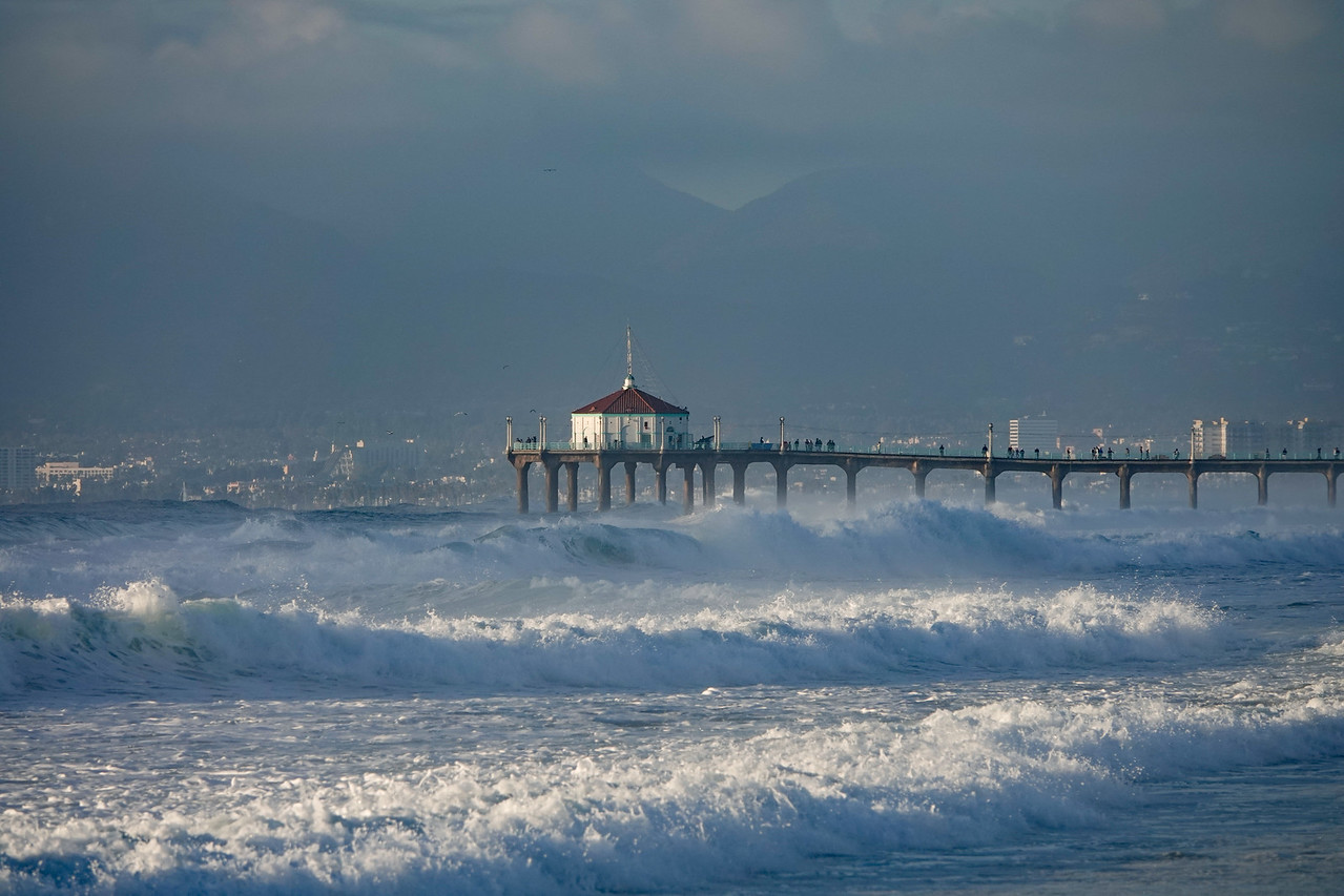 The Manhattan Beach Pier on 12/18/18