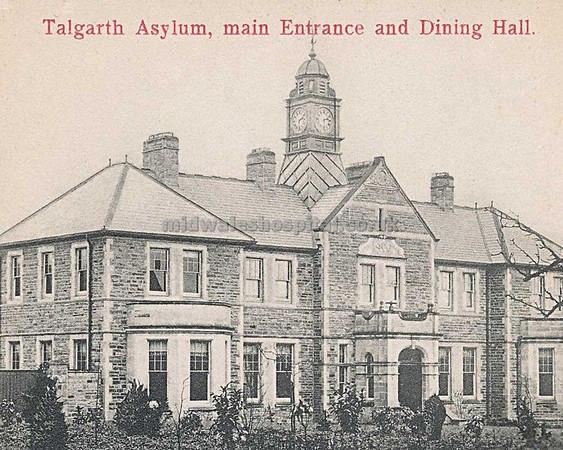 Talgarth Asylum 2010.