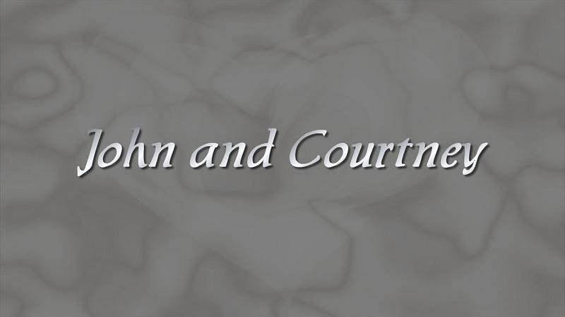 John and Courtney