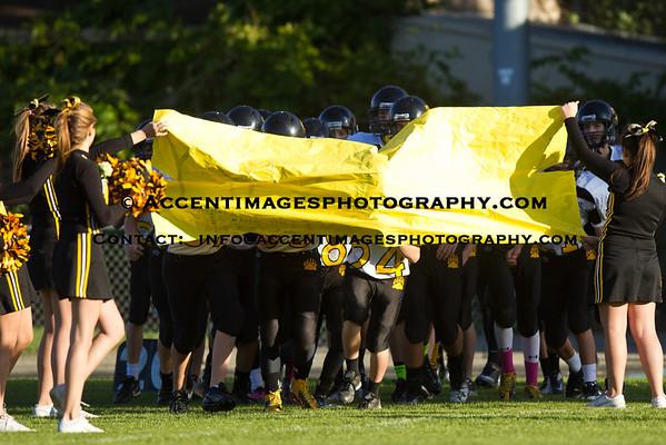 8th Grade Football at Jones MS