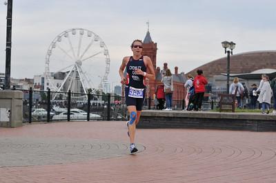 Cardiff Triathlon - Olympic Women Run 8-27 to 9-28