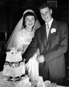 George & Val Wedding