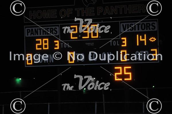 Hinsdale Central Football at Oswego High School 11-2-13