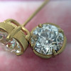 2.23ctw Old European Cut Diamond Stud Earrings 4
