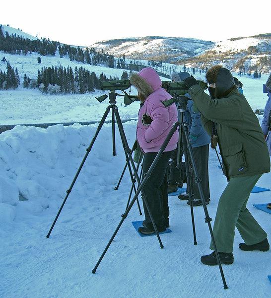 sixteen below zero morning viewing 1/25/07