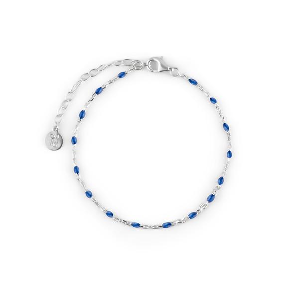 Beaded brace blue