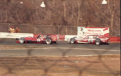 Riverside Park Speedway in the 1980's