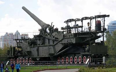 Russian railway artillery, 2015