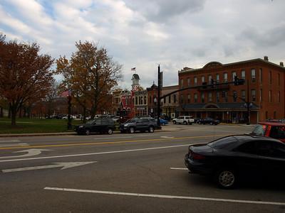 Medina, Ohio downtown