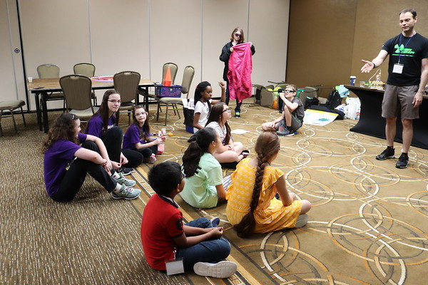 Gulf Coast Mensa Kids Robot, STEM, and Teamwork Camp 5-25-19