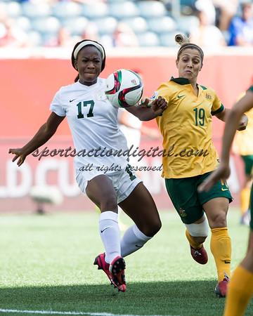 Australia vs Nigeria 6-12-15