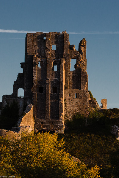 Low Sun on the Ruins