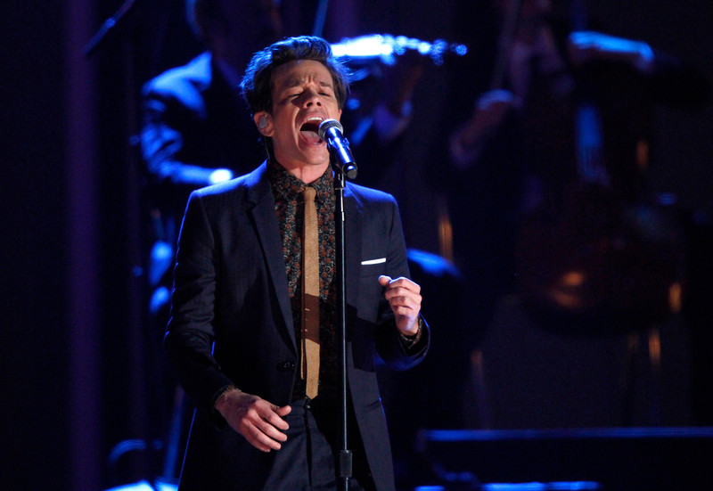. Nate Ruess, of the musical group fun., performs at the Grammy Nominations Concert Live! at Bridgestone Arena on Wednesday, Dec. 5, 2012, in Nashville, Tenn. (Photo by Wade Payne/Invision/AP)