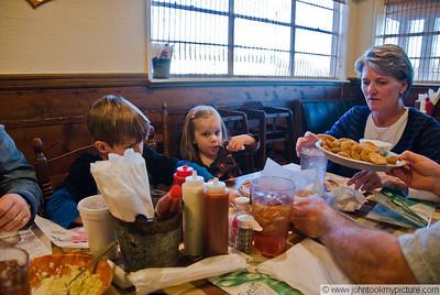 2009 03 04 Grannys Birthday Dinner at Ezells
