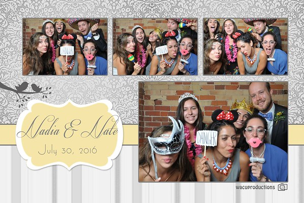 Nadia & Nate Wedding Photobooth