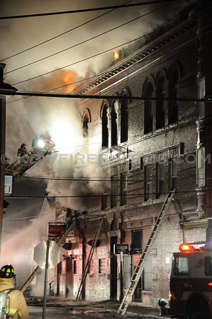 Nashua, NH - 5th Alarm - 45 Pine St - 2/7/09