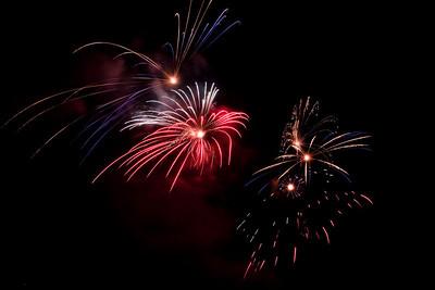 Fireworks 2010 St Helena
