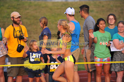 Athlete Intros, SOS Rehydrate 800 - 2014 Michigan Track Classic