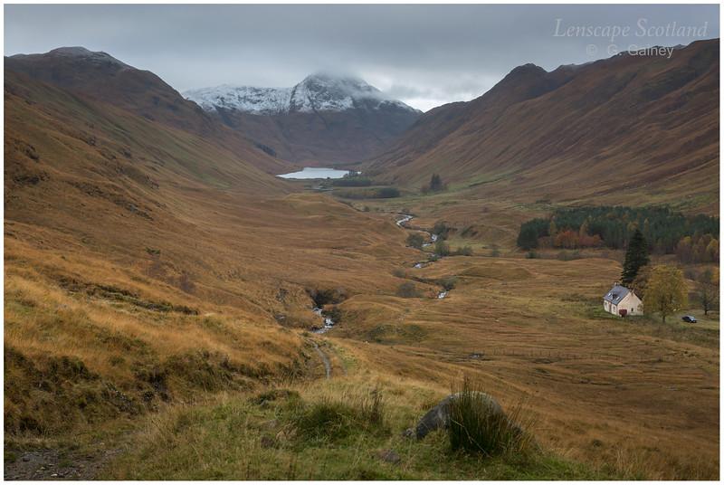 Iron Lodge, Loch na Leitreach and Carnan Cruithneachd