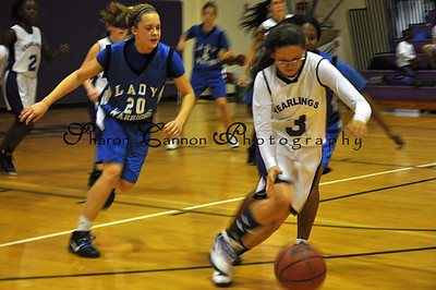 Osceola Middle School Girl's Basketball game