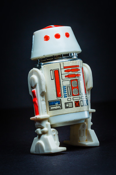 Star Wars Day - May the Fourth Be With You.  R5-D4, an R5 series astro mech droid. [JOSEPH FORZANO/palmbeachpost.com]