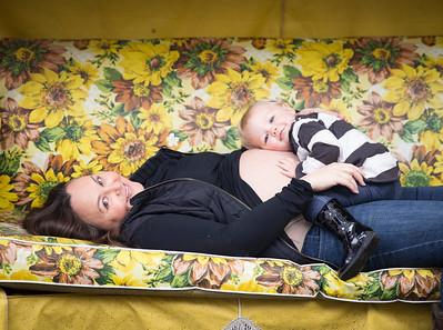 Lauren, Stella & Baby Frosty-Pile