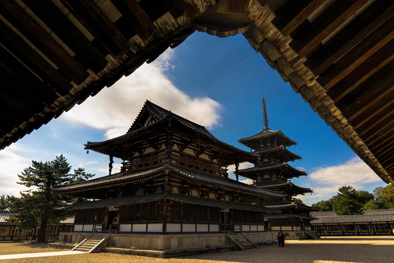 Horyu-ji Ledge in Nara, Japan