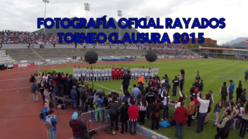 Fotografía oficial Rayados Torneo Clausura 2015