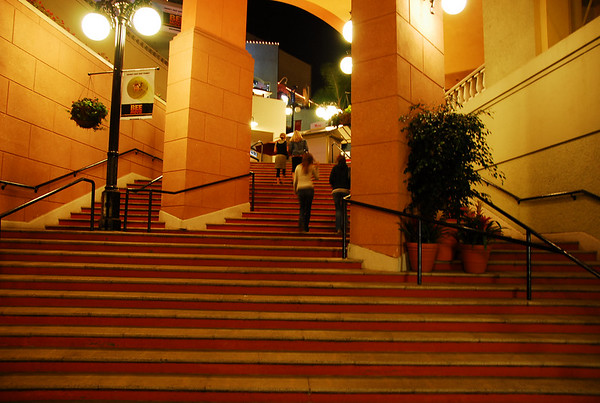 Horton Plaza at night