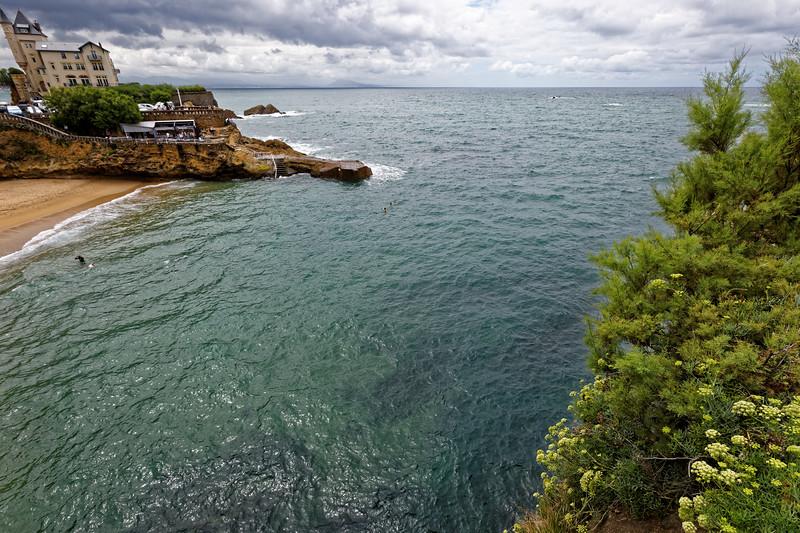 Biarritz, Plage de Port Vieux