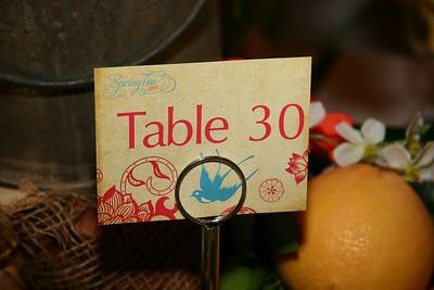 Spring Tea Tables 2010