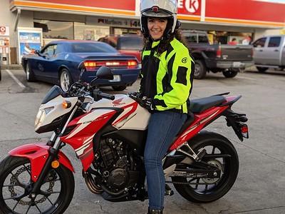 2015 Honda CB700F