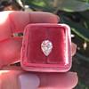 2.01ct Antique Pear Shape Diamond GIA G VS1 21