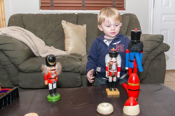 Cory, Katie & Kyson visit, December, 2014