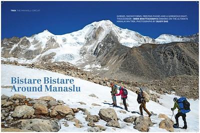 Around Manaslu  | Outlook Traveller July 2017