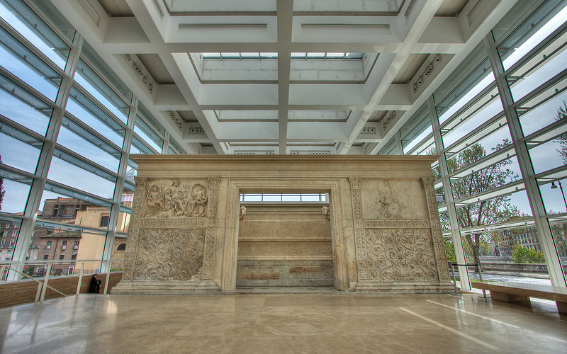 Ara Pacis Museum, Rome (HDR Image)