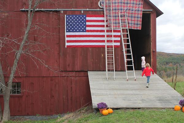Lincoln Clark, Barn Dedication