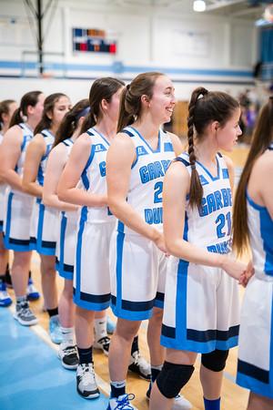 12-13-19 Garber Varsity Girls Basketball