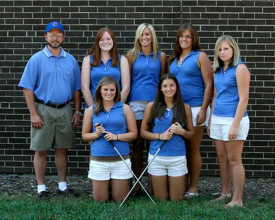 SNHS Girls Golf Team 2007