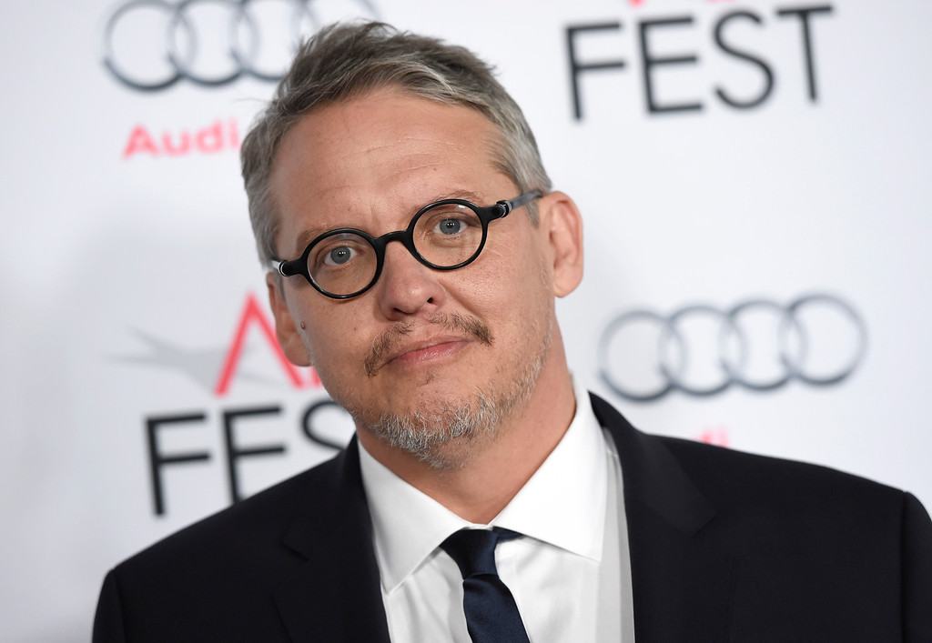 """. In this Nov. 12, 2015 file photo, director/writer Adam McKay arrives at the world premiere of \""""The Big Short\"""" during the AFI Fest at the TCL Chinese Theatre in Los Angeles. McKay was nominated for an Oscar for best director on Thursday, Jan. 14, 2016, for the film. The 88th annual Academy Awards will take place on Sunday, Feb. 28, at the Dolby Theatre in Los Angeles. (Photo by Chris Pizzello/Invision/AP, File)"""