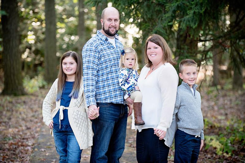 Williamsport Family Photographer : 10/16/16 Rob, Wendi, Bailey, Finn, and Nola