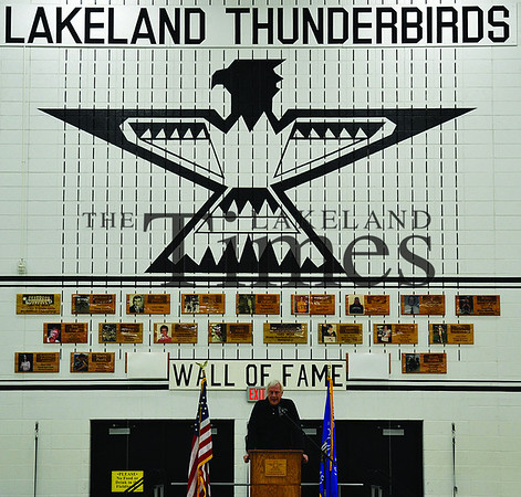12-28-13 LUHS Wall of Fame Induction