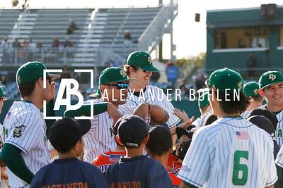 2018 Cal Poly Baseball vs Davis Game1