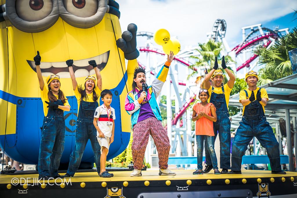 Despicable Me Breakout Party at Universal Studios Singapore / Minion Trivia