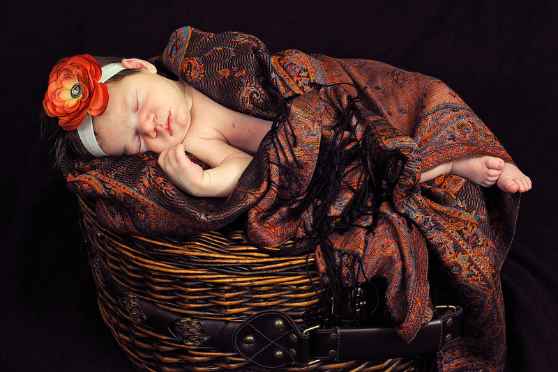 2012-2-19 –––– This is one of my all time favorite photos of anyone. I love the colors and the textures. But most of all, I love that little Aili baby who slept while we had fun taking pictures of her.