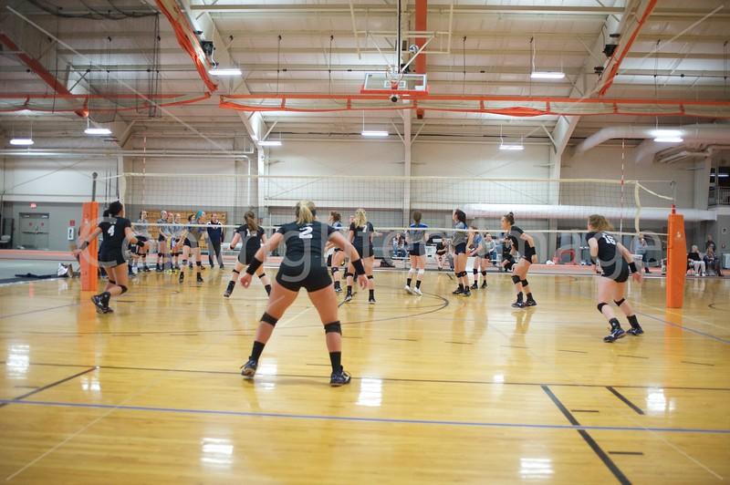 Bluffton Volleyball Spring 040817