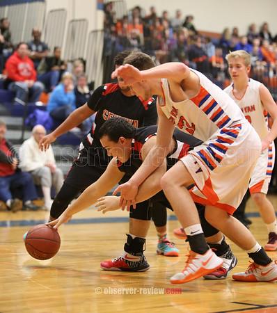 Penn Yan Basketball 1-13-17
