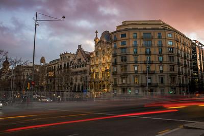 Casa Batlló Night