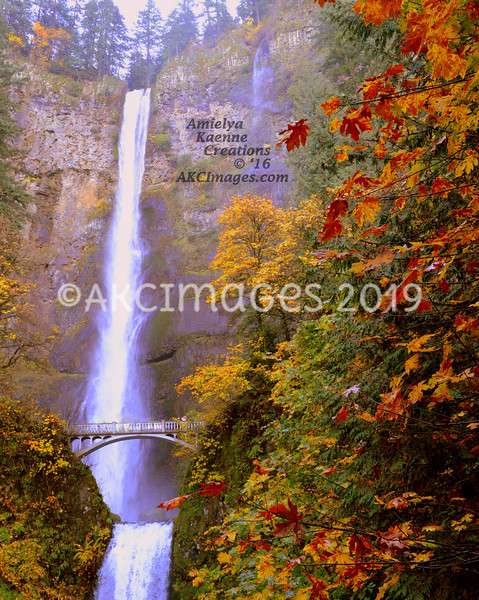 Multnomah Falls , Oregon