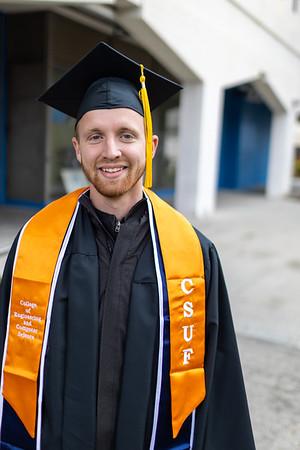 May 19, 2019 David's CSUF Graduation